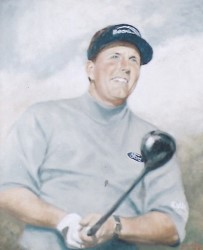 Phil Mickelson, 2006 Gold Tee Award winner