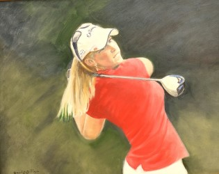 Morgan Pressel, 2015 Bing Crosby Tournament Sponsor Award winner