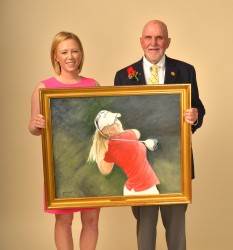 Morgan Pressel and Paul Dillon