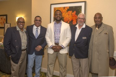 Veterans from the Met PGA HOPE program at the 2018 National Awards Dinner