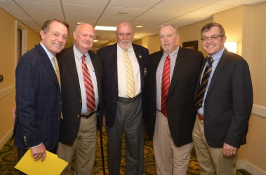 MGWA members Jimmy Roberts, Bob Thomas, Paul Dillon, Mark Cannizzaro and Hank Gola at the 2017 National Awards Dinner